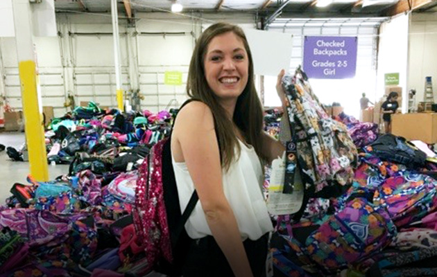 Marvell Gives Back to School Backpack Drive